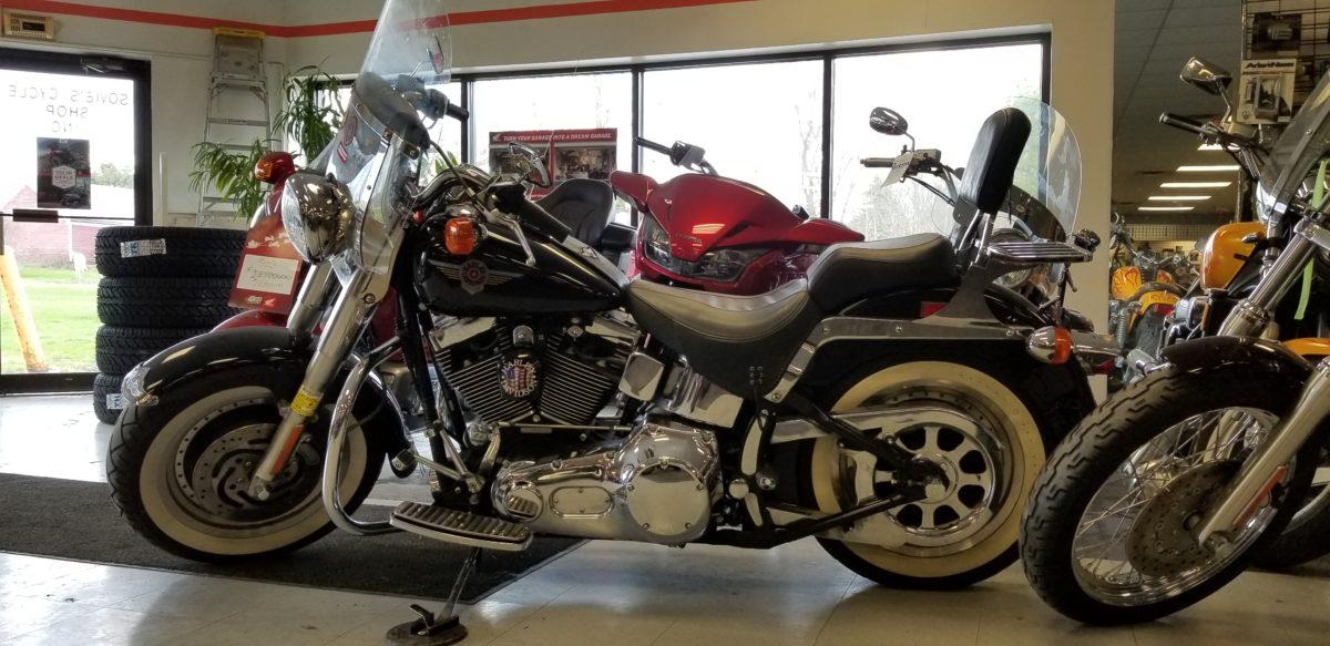 2001 Harley-Davidson FLSTF Fatboy