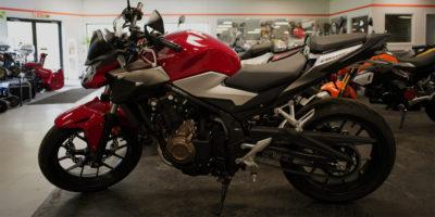 New 2019 Honda CB500F