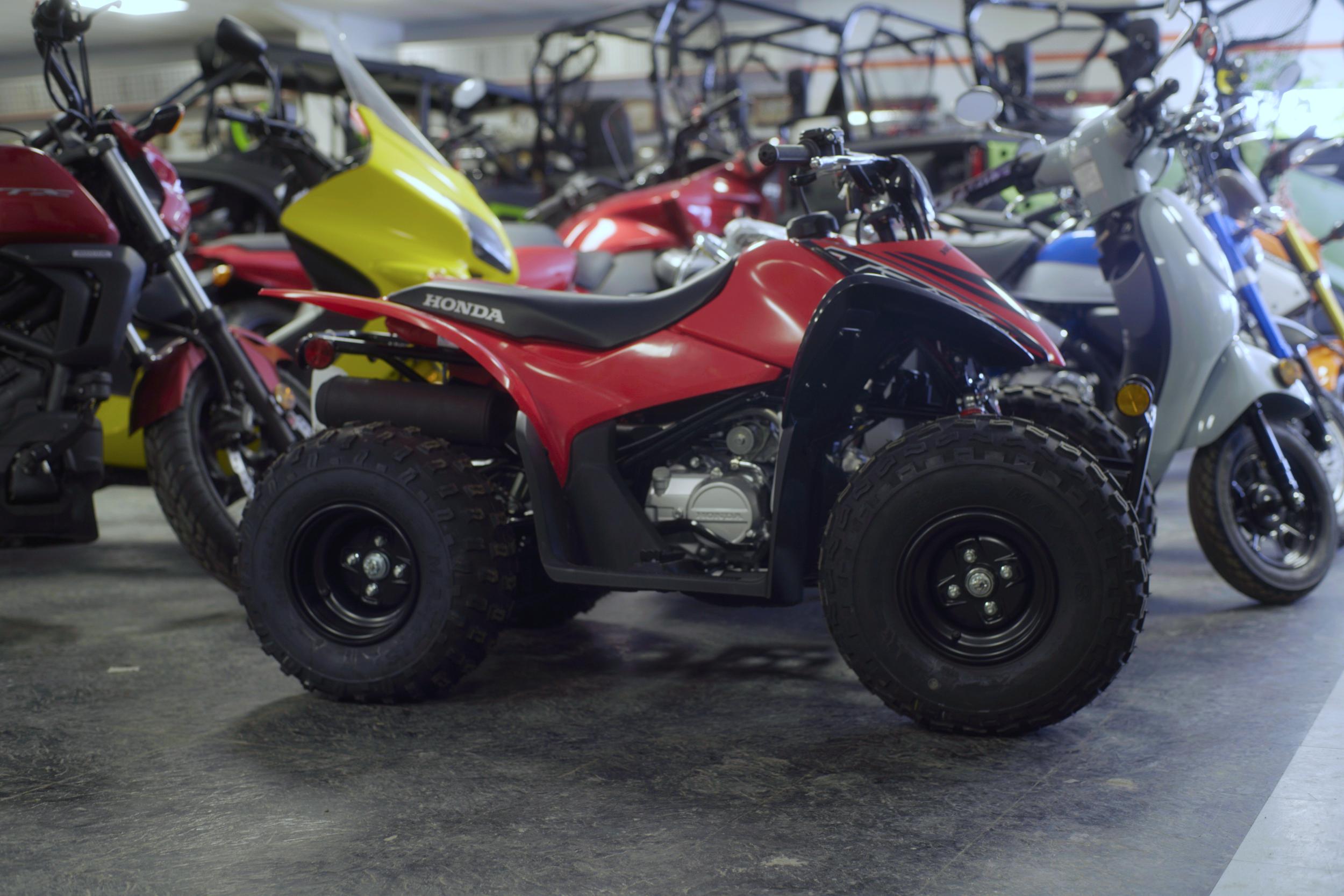 NEW 2021 Honda TRX90 ATV