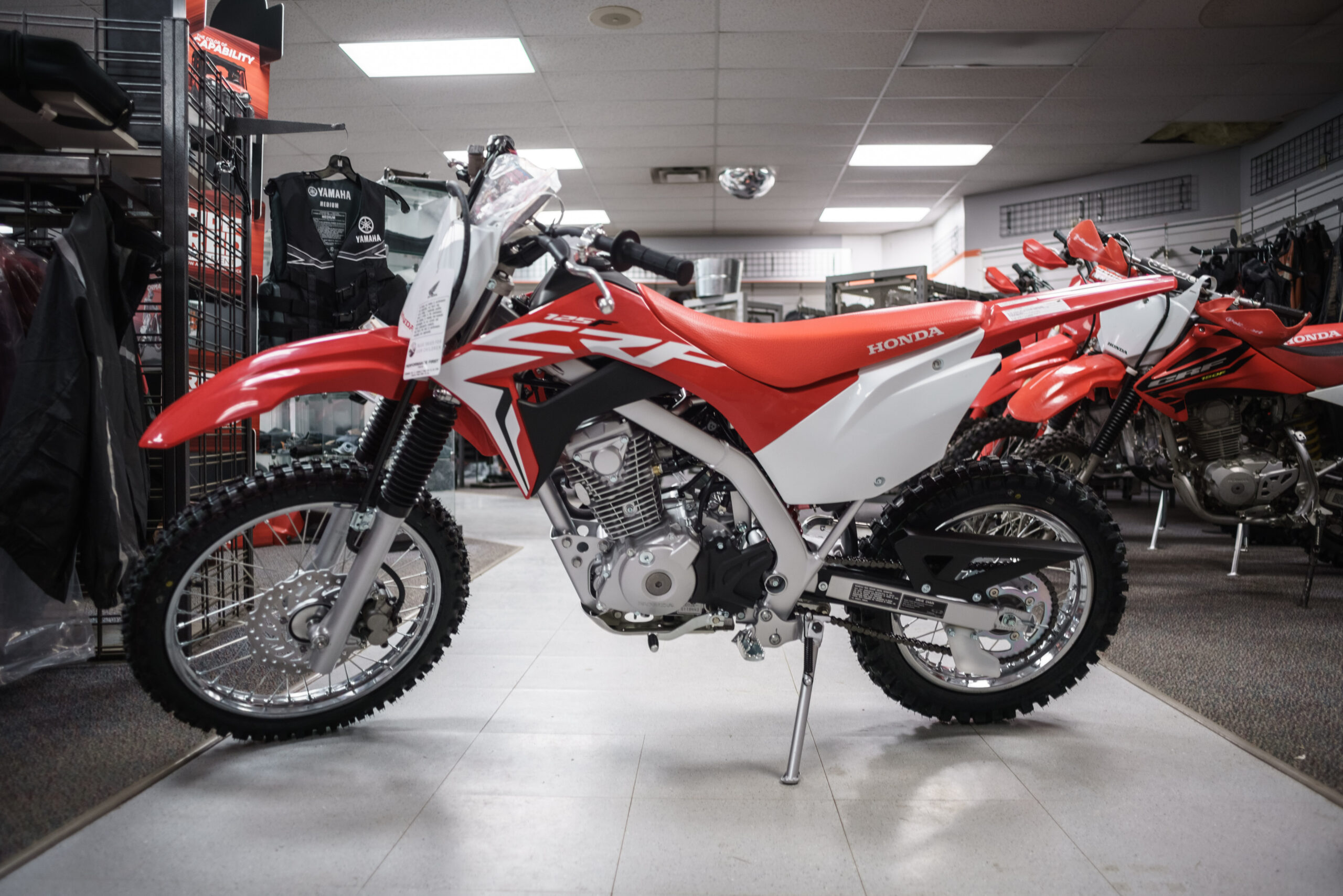 New 2021 Honda CRF125 Dirtbike
