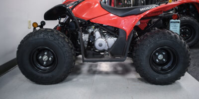New 2021 Honda TRX90